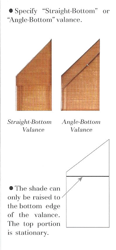 Angle Top Shades product information