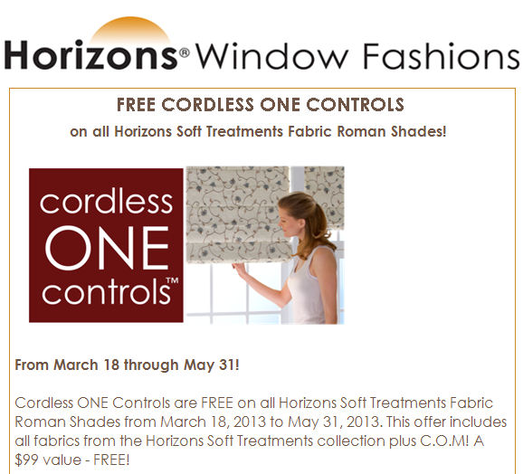 Free Cordless One feature for a LIMITED TIME