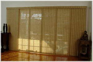 Sliding Panels Sliding Blinds Prestige Woven Wood