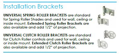 Installation Brackets