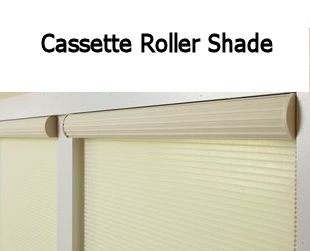 Optional Cassette System for Roller Shades