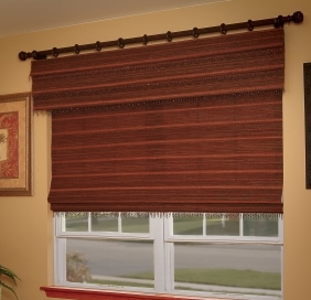 Woven Top Treatments by Horizons Window Fashions