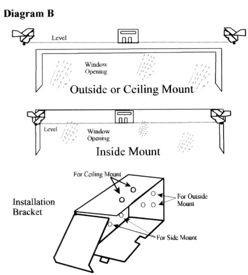 how to install blinds inside mount get acquainted with your new wood blind installing wood blinds installation instructions ace fast blinds