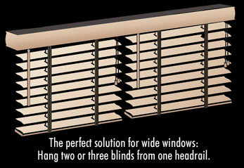 Multiple Blinds On One Headrail Ordering Information Ace