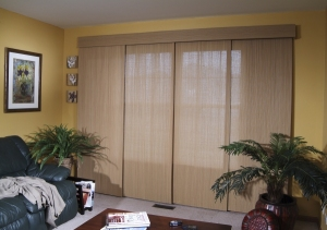 Elance Sliding Panels in the living room