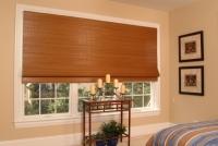 Horizons window fashions horizons natural shades averte for Natural woven flat fold shades