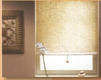 photo of roller shades
