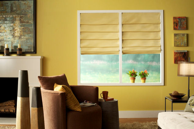 Room setting of Vitale shades
